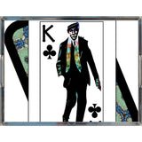 Play Your Hand...King Club No. 1 Acrylic Tray
