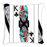 Play Your Hand...King Club No. 2 Throw Pillow