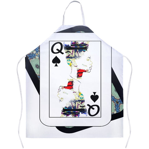 Play Your Hand...Queen Spade No. 1 Apron