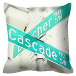 Load image into Gallery viewer, The Corner No. 2 Throw Pillow