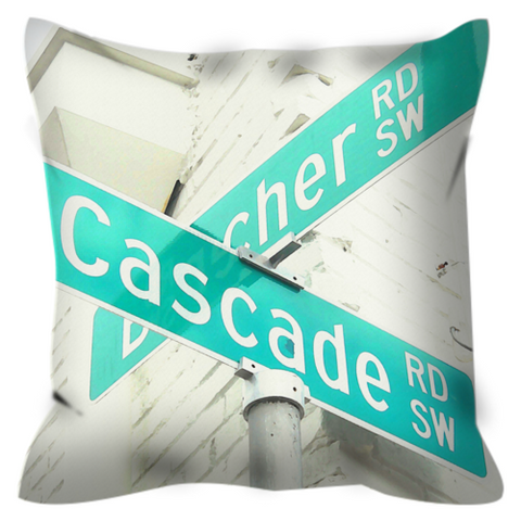 The Corner No. 2 Throw Pillow