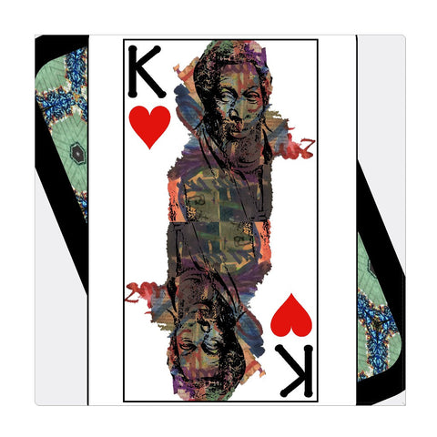 Play Your Hand...King Heart No. 1 Wrapped Canvas
