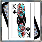 Load image into Gallery viewer, Play Your Hand...King Club No. 2 Acrylic Tray