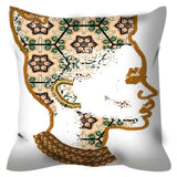 Queen Things No. 2 Throw Pillow