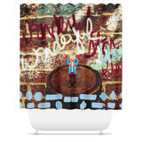 Headless Revolutionary No. 6 Shower Curtain