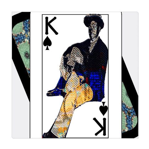 Play Your Hand...King Spade No. 1 Wrapped Canvas
