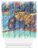 Load image into Gallery viewer, Street Scene West End Shower Curtain