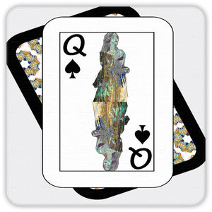 Play Your Hand...Queen Spade No. 3 Coaster Set