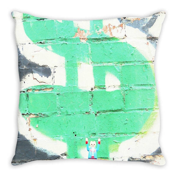 Headless Revolutionary No. 5 Throw Pillow
