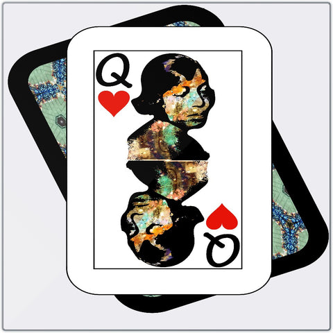 Play Your Hand...Queen Heart No. 1 Metal Print