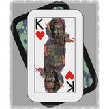Play Your Hand...King Heart No. 1 Woven Blanket