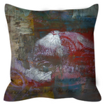 Load image into Gallery viewer, Word is Born Throw Pillow