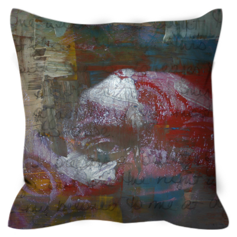 Word is Born Throw Pillow