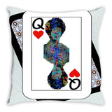 Play Your Hand...Queen Heart No. 2 Throw Pillow