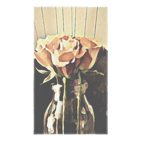 A Rose is still a Rose Tea Towel