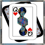Load image into Gallery viewer, Play Your Hand...Queen Heart No. 2 Acrylic Tray