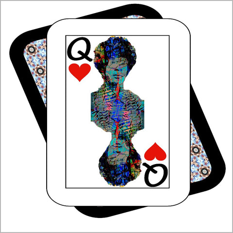 Play Your Hand...Queen Heart No. 2 Canvas Poster