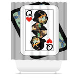 Play Your Hand...Queen Heart No. 1 Shower Curtain