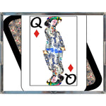 Load image into Gallery viewer, Play Your Hand...Queen Diamond No. 4 Acrylic Tray