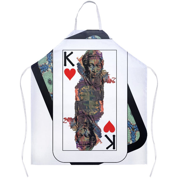 Play Your Hand...King Heart No. 1 Apron