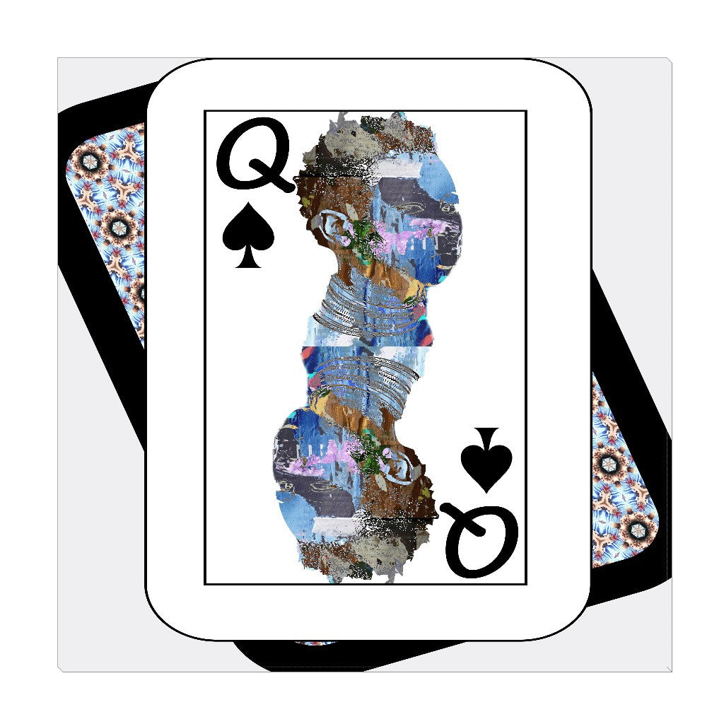 Play Your Hand...Queen Spade No. 2 Wrapped Canvas