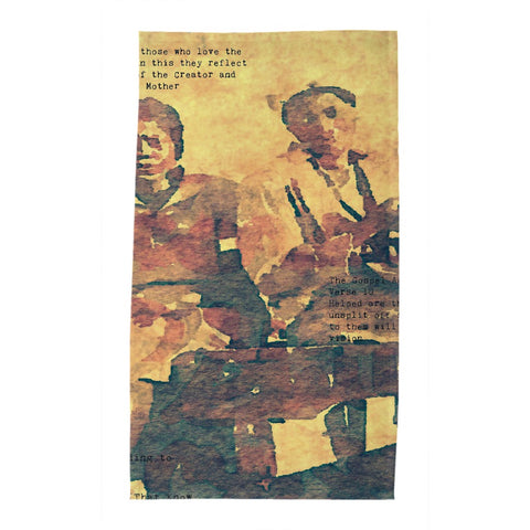 Shug Avery's Gospel Pt. 1 Tea Towel
