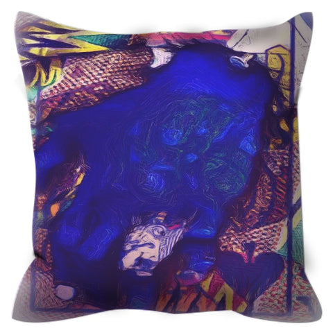Play Your Hand Throw Pillow