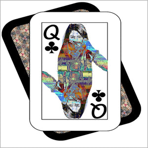 Play Your Hand...Queen Club No. 4 Canvas Poster