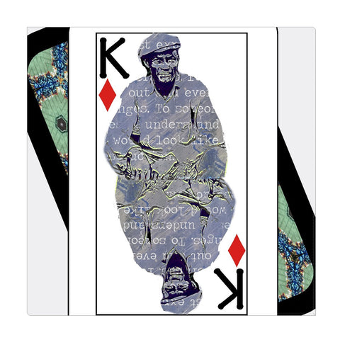 Play Your Hand...King Diamond No. 1 Wrapped Canvas