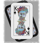 Load image into Gallery viewer, Play Your Hand...King Spade No. 2 Woven Blanket