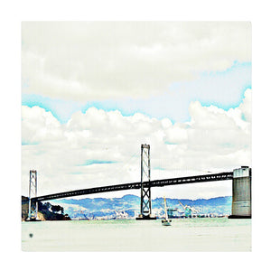 The Bridge Wrapped Canvas