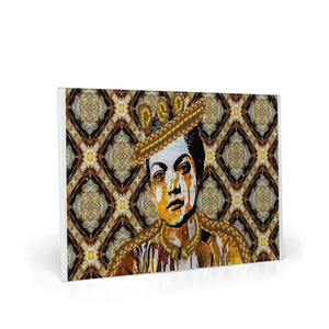 Queen Things No. 5 Glass Cutting Board