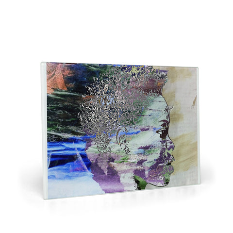 Don't Look Back Glass Cutting Board
