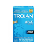 Trojan ENZ Condoms - 12 Pack