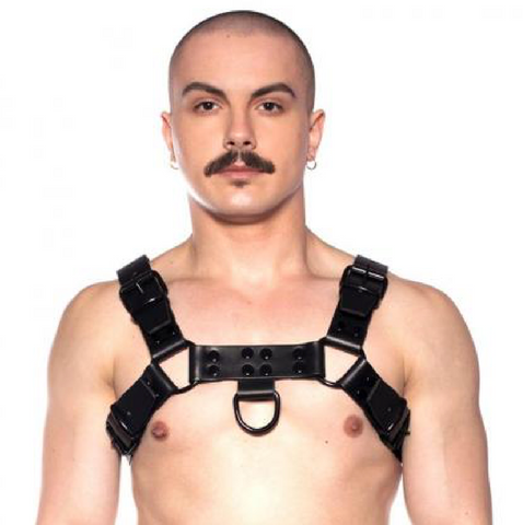 The Prowler Red - Noir Harness