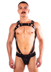 The Prowler Red - Butch Body Harness