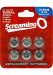 Screaming-O AG13 LR44 Batteries