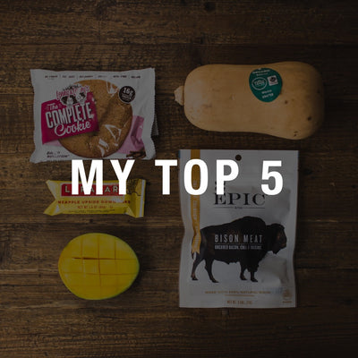 My Top 5: Charissa Sutliff's Favorite Foods and Why