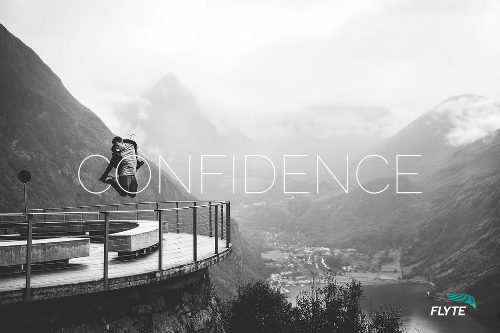 5 ways to build confidence - FLYTE