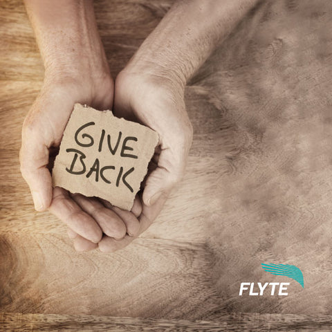 Flyte Gives Back