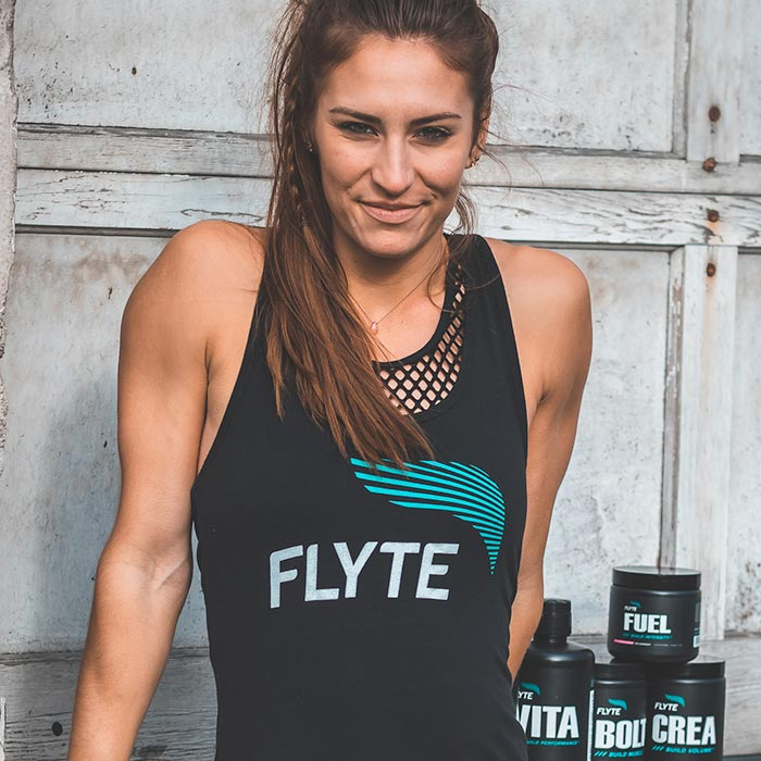 FLYTE mens christian workout clothing