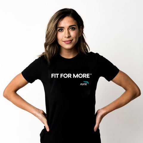 Fit For More Unisex Shirt Black