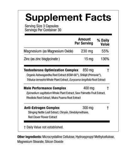 FUSE workout booster supplement facts by FLYTE