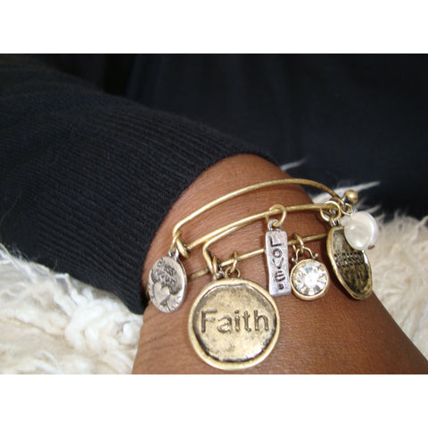 Blessed Faith Bracelet Set