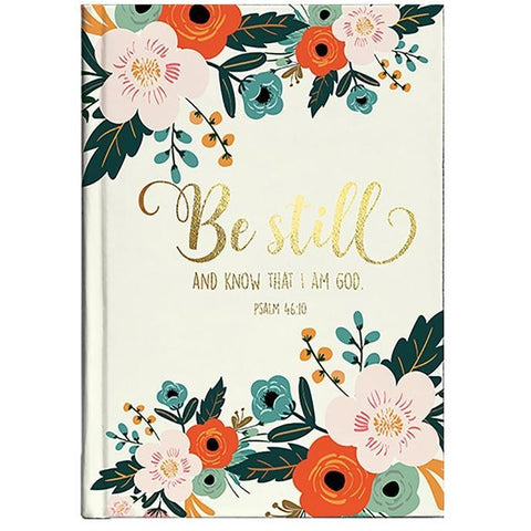 Be Still Floral Journal
