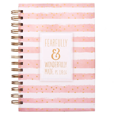 Fearfully Wonderfully Made Psalm 139:14 Journal