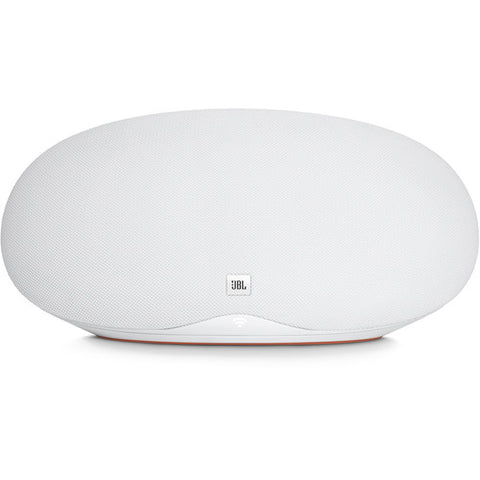 JBL Playlist - Wireless Home Speaker with Chromecast built-in - White