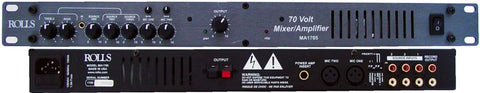 Rolls MA1705 5-Input Mixer/Amplifier