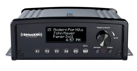 SiriusXM GDI-SXBR1 Music for Business Internet Radio