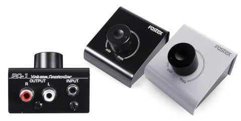 Fostex Volume Control F/Power Monitor Black-to connect computer/IPod Model# PC-1E(B)